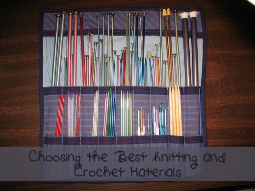 Choosing the best knitting and crochet materials for your gift projects.