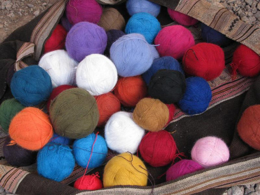Alpaca wool yarn is a great yarn to work with, if you can afford it!