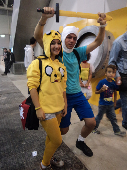 Adventure Time allows for some great cosplay attempts.
