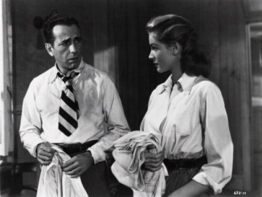 KEY LARGO, Humphrey Bogart, Lauren Bacall, 1948 (c) Warner Bros.