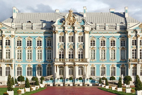 Catherine Palace St. Petersburg was the inspiration behind this magnificent Pen Collection