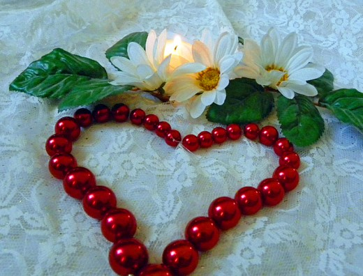 One of Mum's Necklaces Adorned Her Coffin