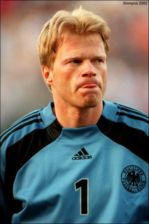 Oliver Kahn with Germany