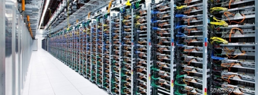 Google's data center server