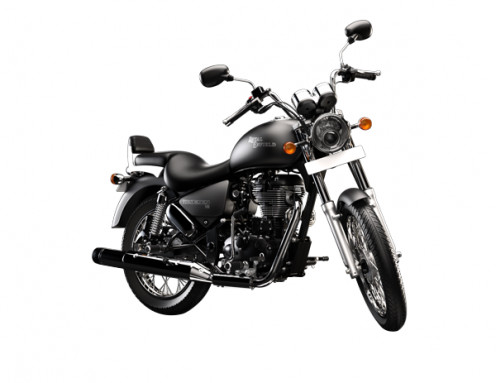 Thunderbird 500 manufactured in 2010 by Enfield motors.