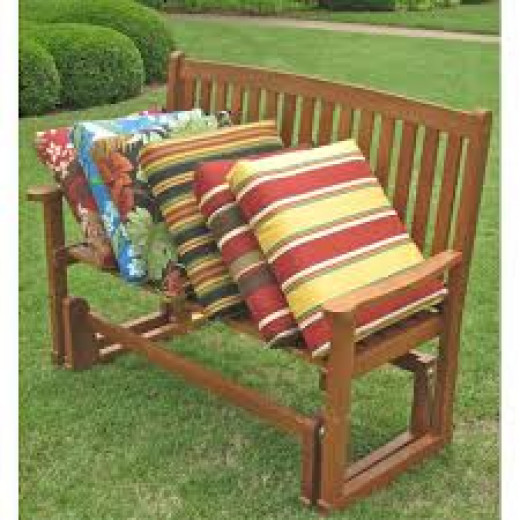Traditional Canvas Outdoor Chair Cushions