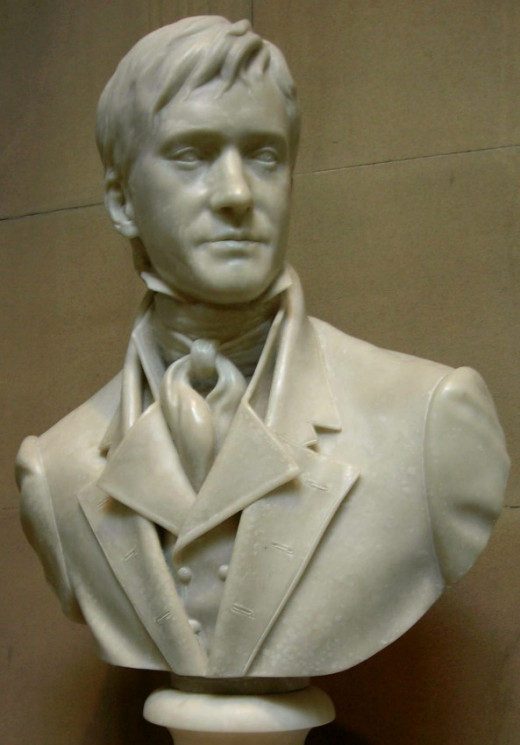 Bust of Matthew Macfadyen as Fitzwilliam Darcy.