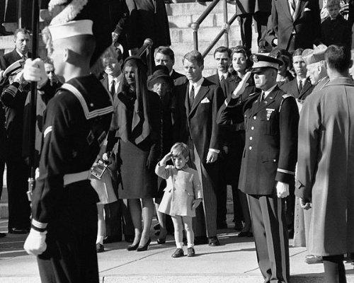 JFK Junior Salute John F Kennedy Funeral