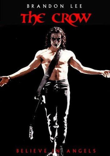 Image of Brandon Lee, from the movie, 'The Crow'