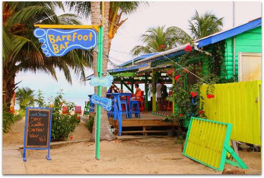 The Barefoot Bar. Stiff Drinks - Tasty Food - Good Times!