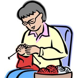 This Grandma knows how to knit!