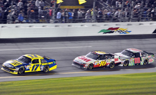 Earnhardt fell just shy before, finishing second in three of the last four Daytona 500 races
