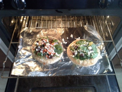 The Homemade Greek Pita Pizza