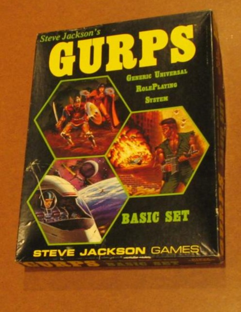 GURPS Basic Set (1st Edition)