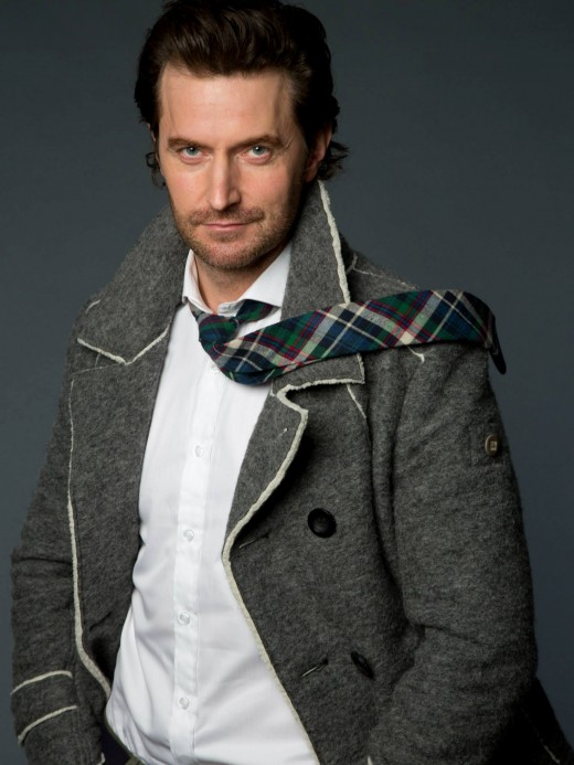 Richard Armitage,  photo shoot by Leslie Hassler, Oct. 2013. Image courtesy of richardarmitagenet.com