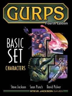 GURPS Basic Set 4th Edition - Characters