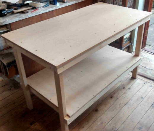 P27 - Turn the completed Bench over