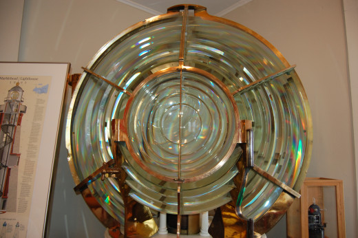 Fresnel Lens - front view