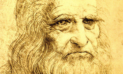Leonardo Da Vinci was a left handed master artist