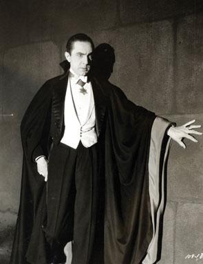 Bela Lugosi in 1931 when he played Dracula.