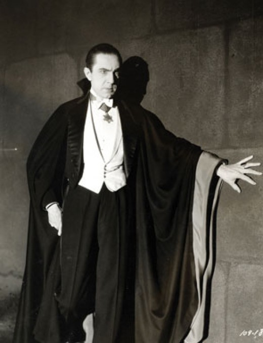 Bela Lugosi in 1931 when he played Dracula.