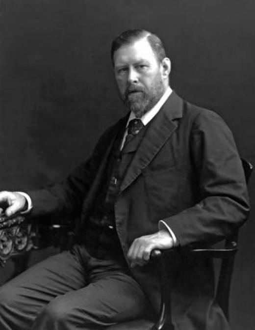 """Abraham """"Bram"""" Stoker c. 1906."""