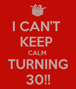 5 Reasons Why I Dreaded Turning 30