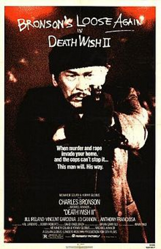 """Death Wish II"" Poster"
