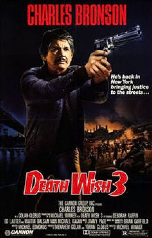 """Death Wish 3"" Poster"