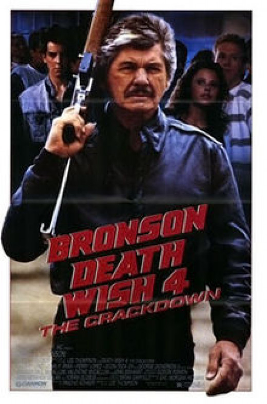 """Death Wish 4: The Crackdown"" Poster"