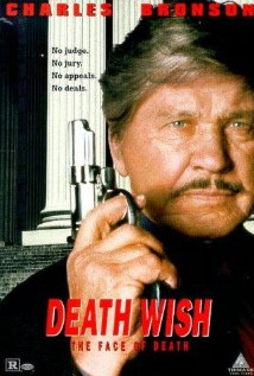 """Death Wish V: The Face of Death"" poster"