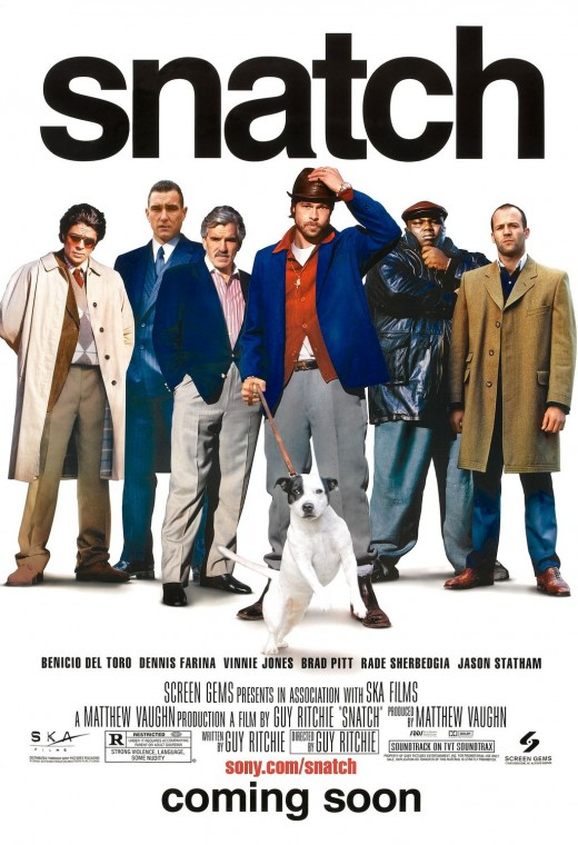 Snatch. Movie Poster.