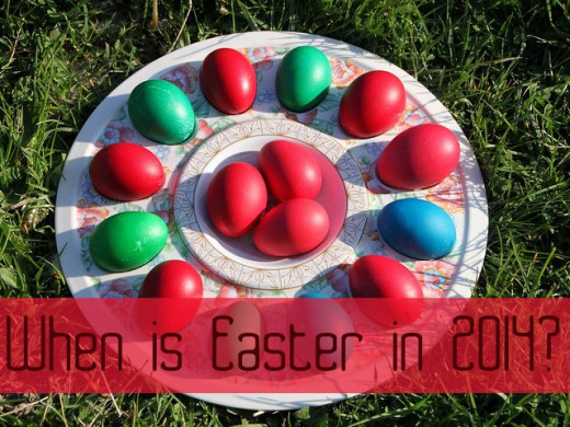 When is Easter in 2014?