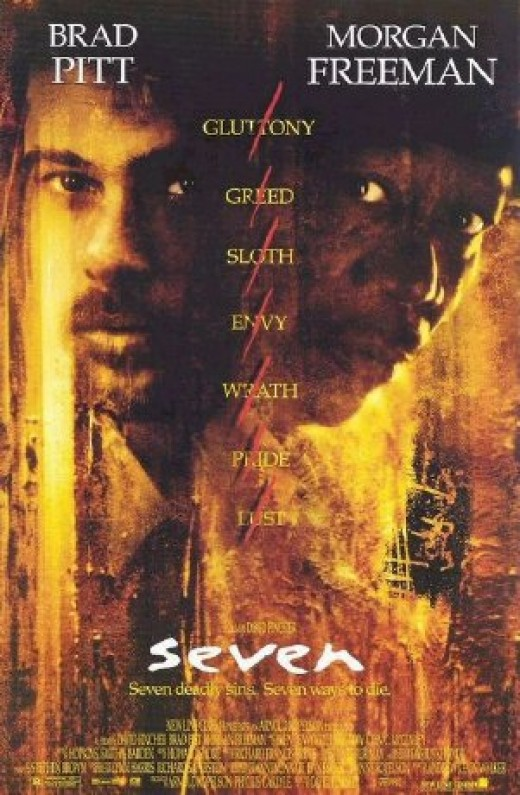 Se7en Movie Poster.