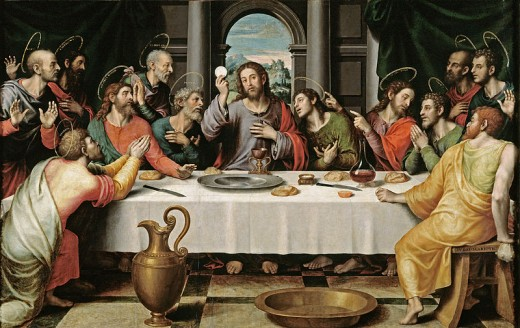 The Last Supper This work is in the public domain in the United States, and those countries with a copyright term of life of the author plus 100 years or less.