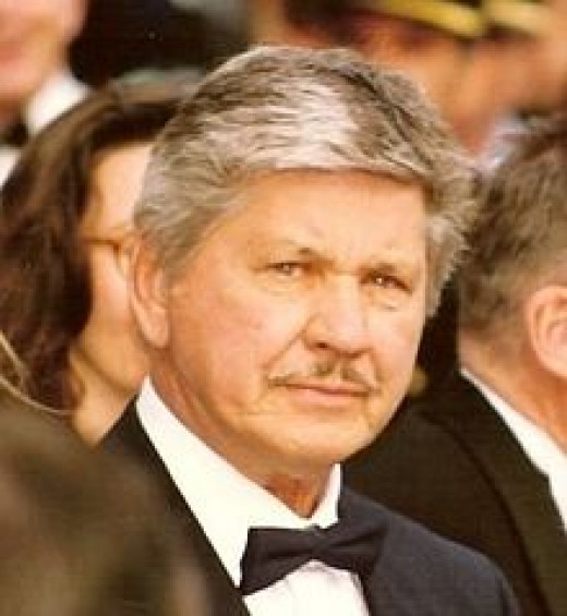 Charles Bronson in 1987