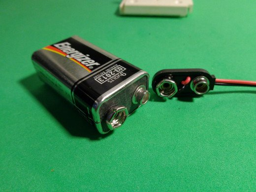 9v Battery and Snap Connector