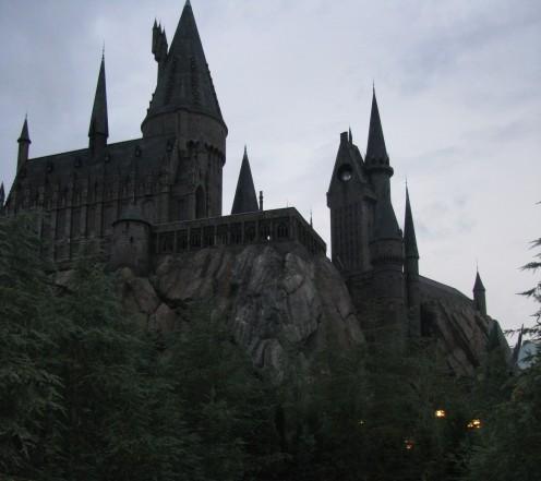 Hogwarts Castle at Sunset