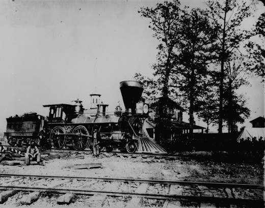 Civil War-era locomotive
