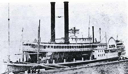 Civil War-era steamboat, U.S.S. Sioux Falls