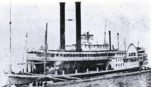 Civil War-era steamboat, U.S.S. Sioux Falls