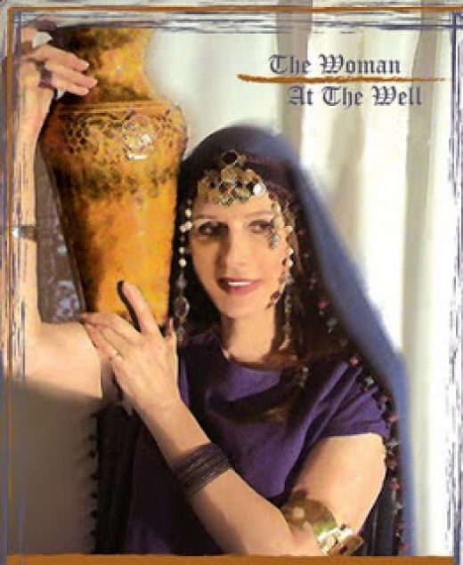 The woman at the well was a divorced woman; she had had five husbands.