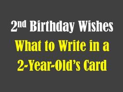 2nd Birthday Wishes, Messages, and Poems