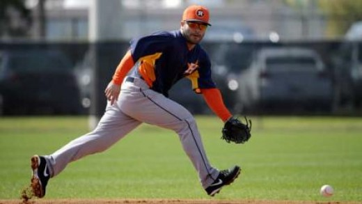 Second baseman Jose Altuve returns for another season with the Astros.