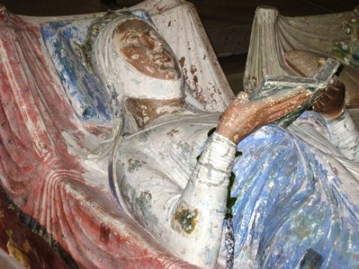 Eleanor of Aquitaine, Richard's beloved mother.