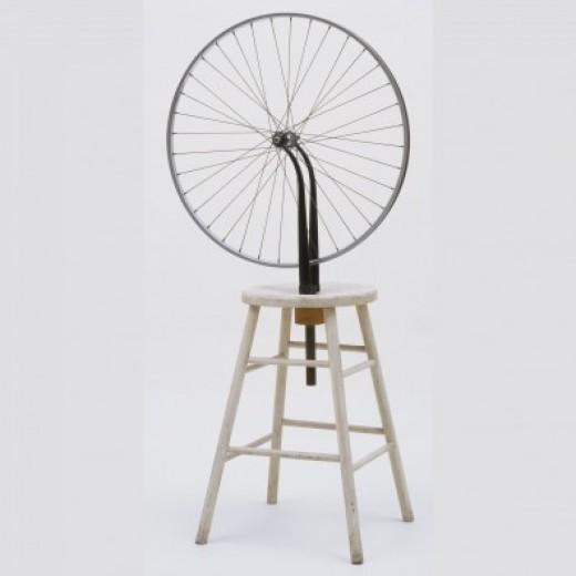 Bicycle Wheel by Marcel Duchamp (1951)