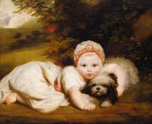 """Portrait of Princess Sophia Matilda of Gloucester (1773-1844)"""