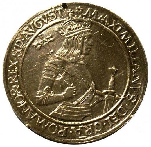 An early Thaler, late fifteenth century.