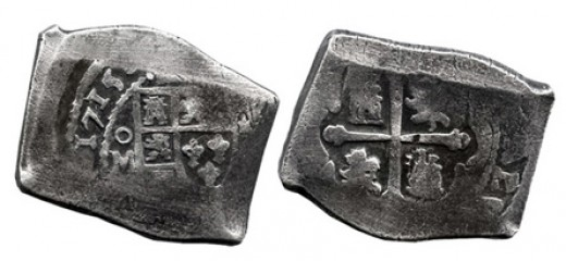Spanish 8 Real Cob Coin