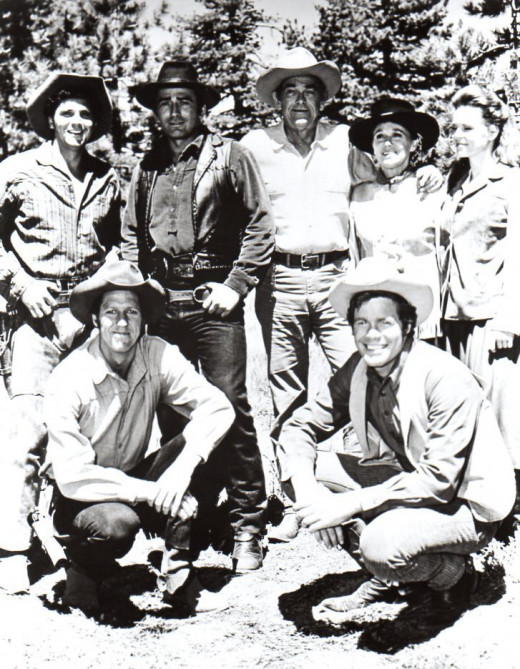 This is a cast picture I have a copy of from the third longest running western The Virginian.